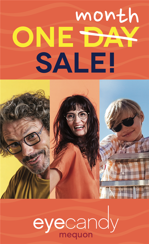 The One MONTH Sale! Glasses & sunglasses at 35% OFF the entire store for everyone, including kids!