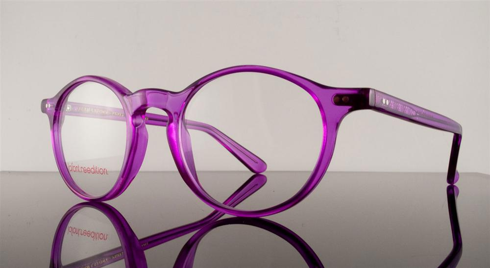 Unique, trendy nerd designer glasses from LaFont available at Eye Candy Delafield.